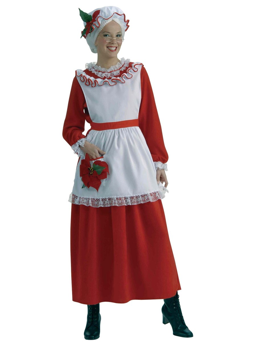 View larger image of Adult Classic Mrs. Claus Costume