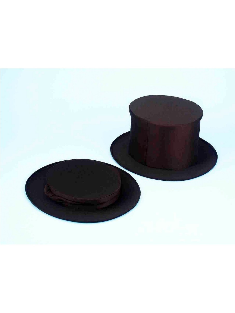 View larger image of Adult Collapsible Top Hat Classic Black