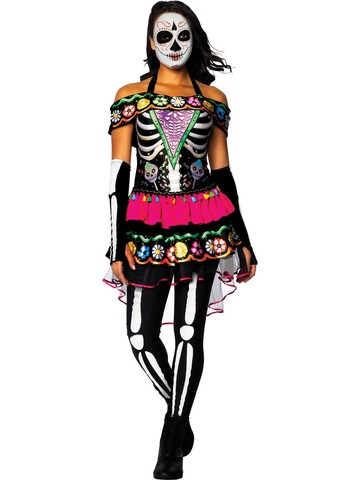 Day of the Dead Costume for Adults