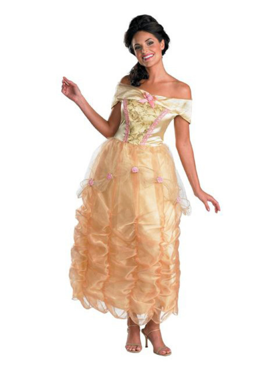 View larger image of Adult Deluxe Disney Belle Costume