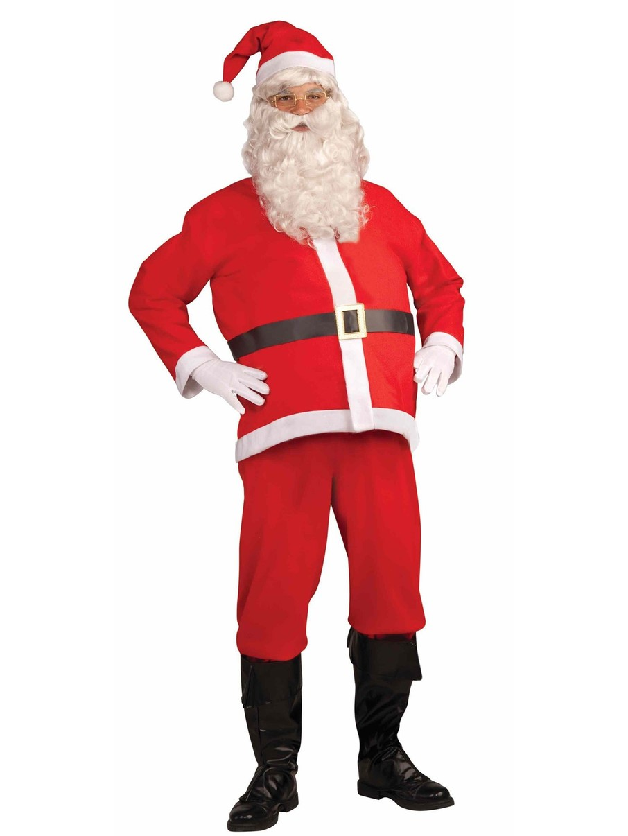 View larger image of Adult Disposable Santa Claus Costume