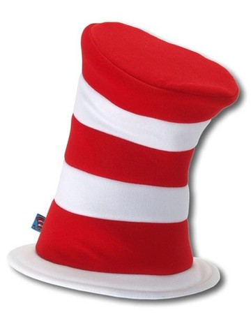Adult Dr Seuss Cat In the Hat Deluxe Hat