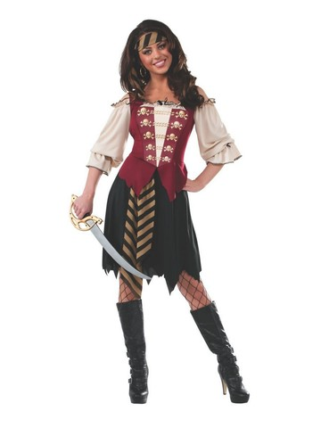 Elegant Pirate Costume for Adult