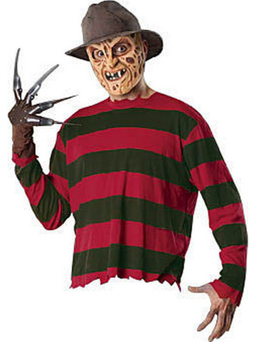 Adult Freddy Krueger Costume Accessory Kit