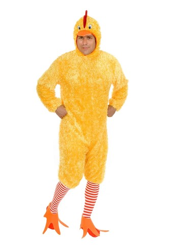 Funky Chicken Unisex Costume for Adults