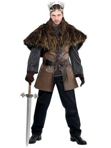 Men's Standard Furry Shoulder Cape