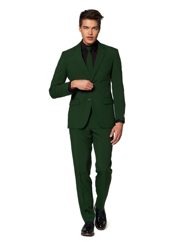 Opposuits Adult Glorious Green Solid Suit