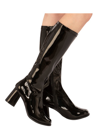 Black Go-go Boots for Adults