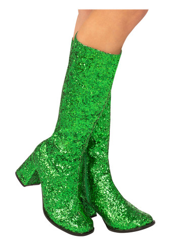 Green Go-go Boots for Adults