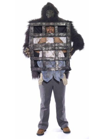 Stuck in A Cage Gorilla Costume