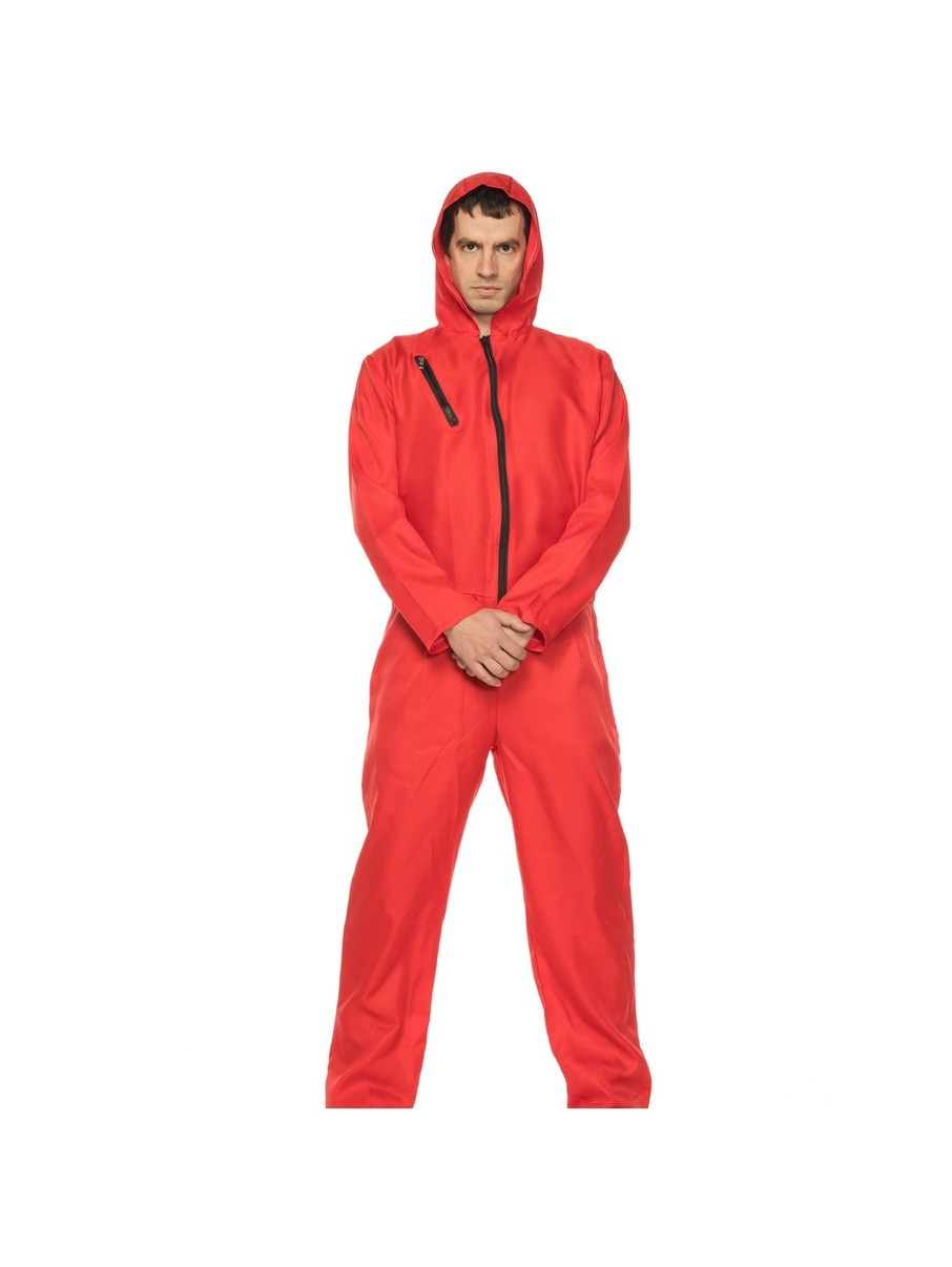 View larger image of Heist Jumpsuit Adult Costume