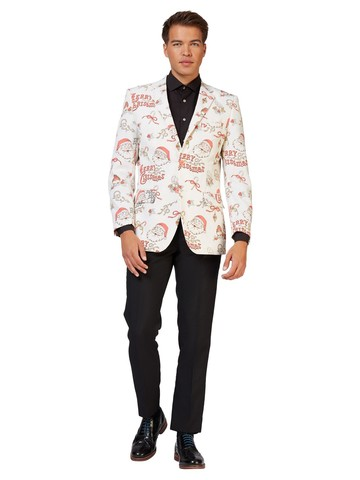 Opposuits Adult Hohoholly Christmas Blazer