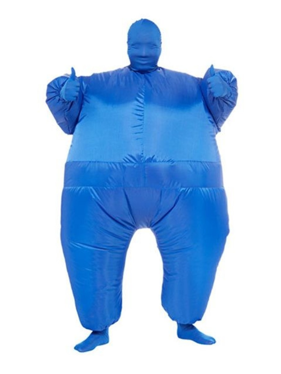 View larger image of Adult Inflatable Blue Jumpsuit