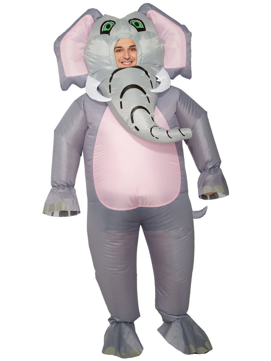 View larger image of Adult Inflatable Elephant Costume
