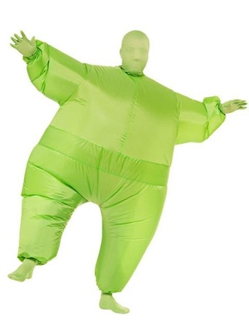 Adult Inflatable Green Jumpsuit
