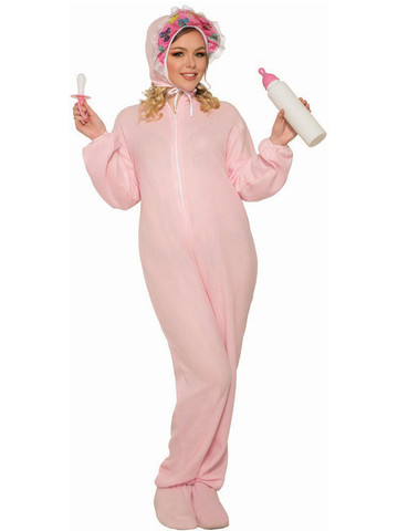Costume - Adult Jammies Pink Classic