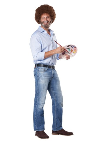 Image result for bob ross costume