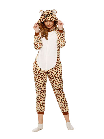 Leopard Jumpsuit Costume for Adult