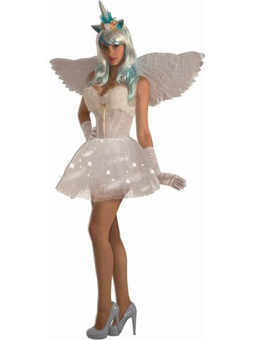Adult Light Up White Classic Tutu