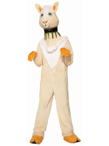 Llama Mascot Costume for Adult