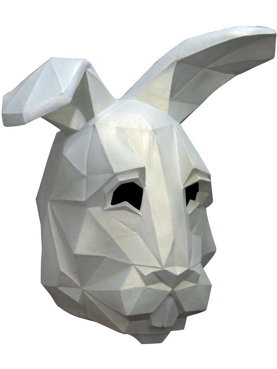 View larger image of Low Poly Bunny Mask for Adult