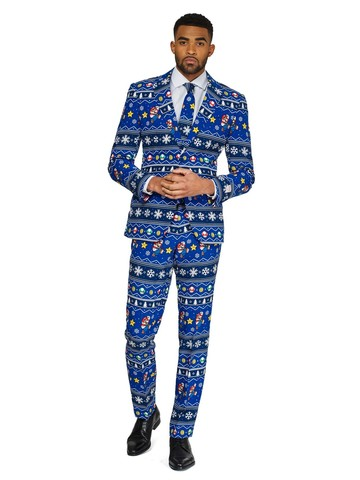 Opposuits Adult Merry Mario Licensed Christmas Suit