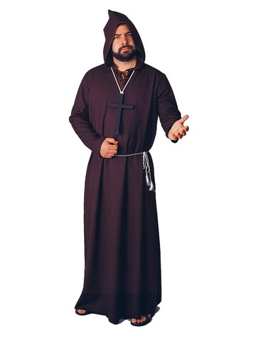 Dark Monk Robe Costume