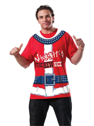 Adult Naughty Is The New Nice T-Shirt Classic Costume