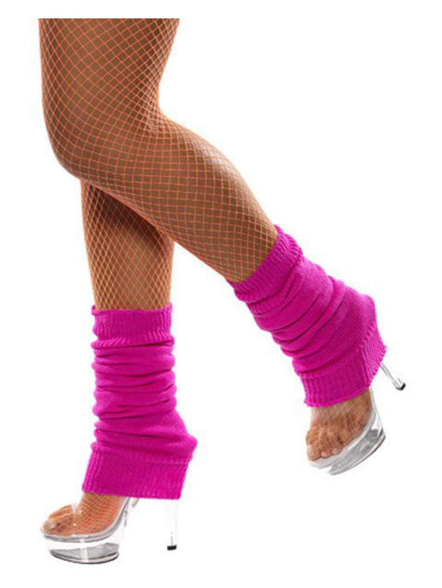 View larger image of Adult Neon Pink Leg Warmers