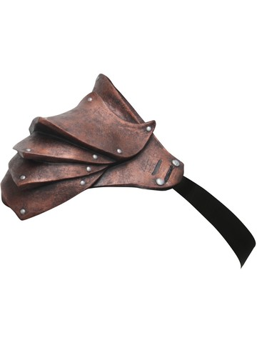 Copper Shoulder Armor Accessory for Adult