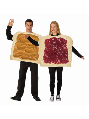 Yummy Peanut Butter and Jelly Costume