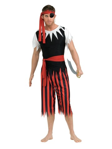 Mens Pirate Sailor Costume