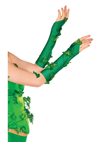 Poison Ivy Glovelets Adult Costume Accessory