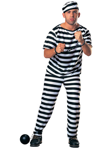 Prisoner Man (Full Cut) Adult Costume