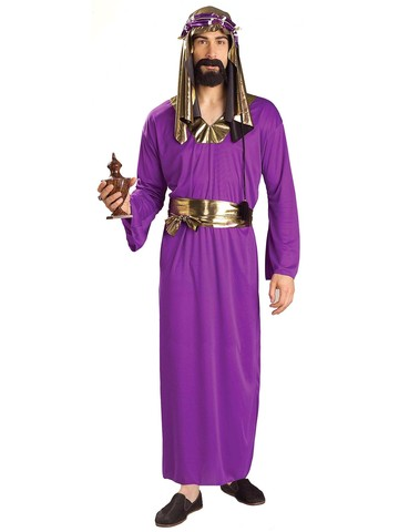 Adult Purple Wiseman Costume