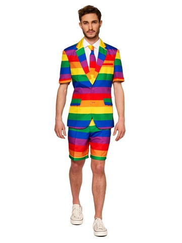 Opposuits Adult Rainbow Pride Summer Suit