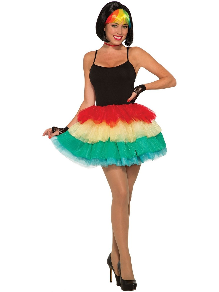 View larger image of Rainbow Tutu for Adults