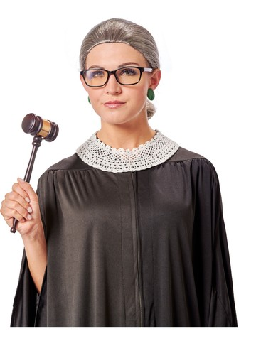 RBG Supreme Court Costume Kit for Adult