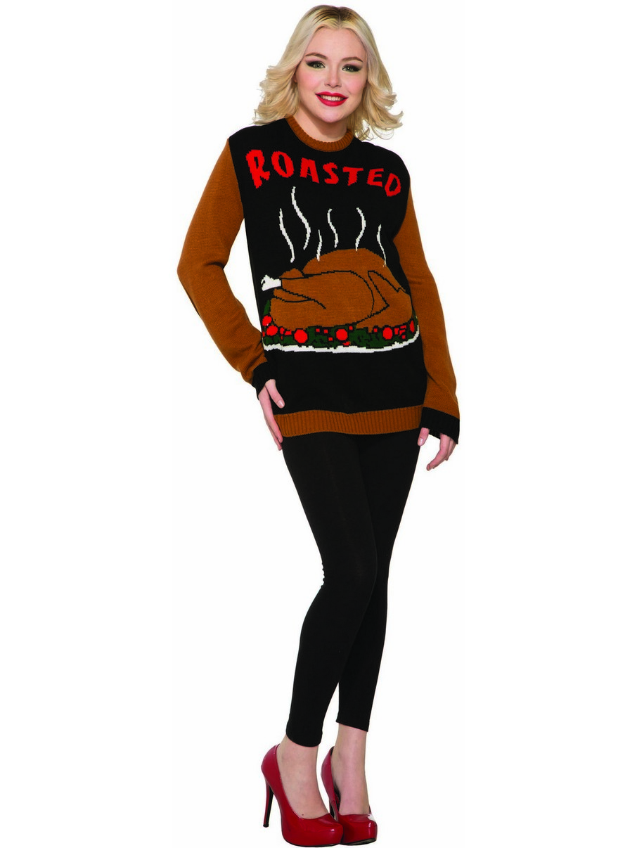 View larger image of Thanksgiving Roasted Adult Sweater
