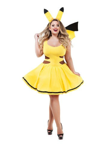 Sassy Catch Me Honey Womens Plus Costume