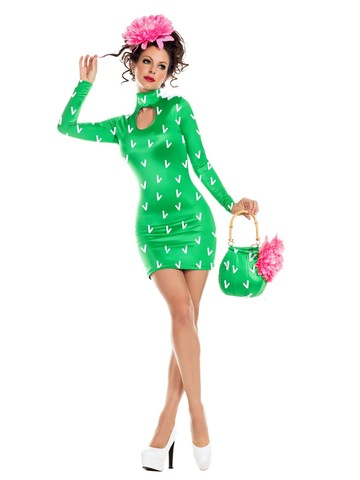 Sassy Prickly Pear Womens Costume