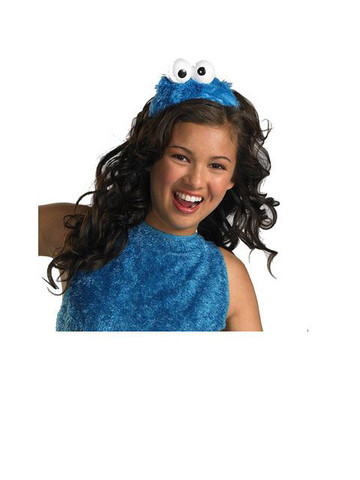Adult Sesame Street Cookie Monster Headband