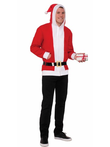 Simply Santa Hoodie w/ Belt for Adult