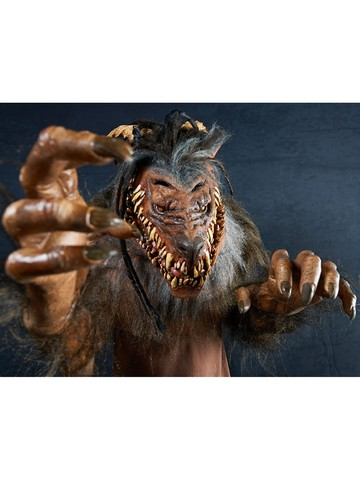 Adult Snarling Werewolf Mask Accessory