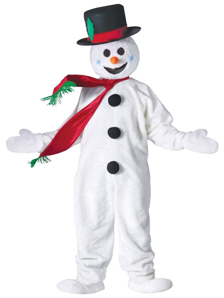 View larger image of Snowman Mascot Adult Standard Costume