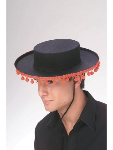 Spanish Pompoms Hat for Adult