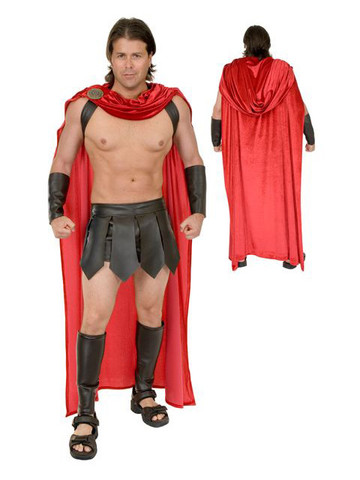 Spartan Warrior Cape for Men