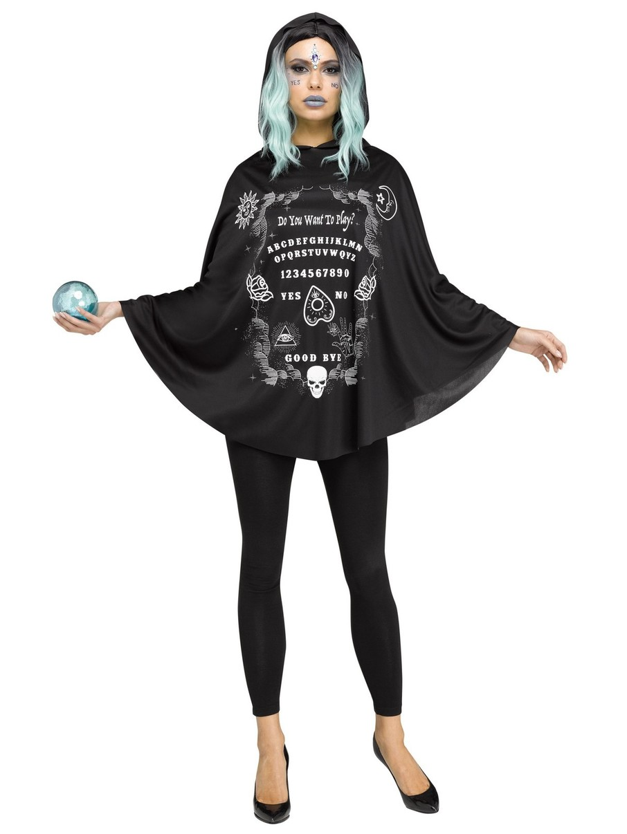 View larger image of Spirit Board Poncho Costume for Adults