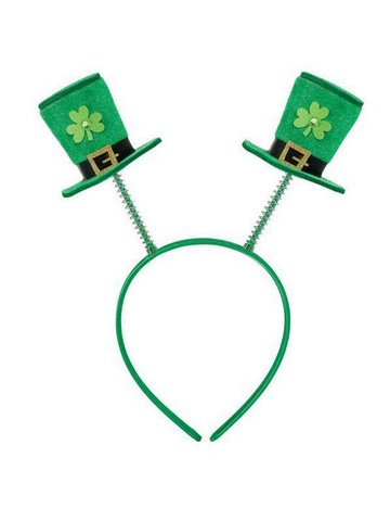 Adult St. Patty's Day Top Hat Boopers Headband