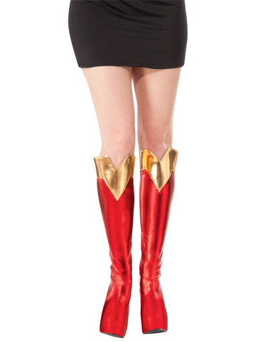 Licensed Supergirl Accessory Boot Tops